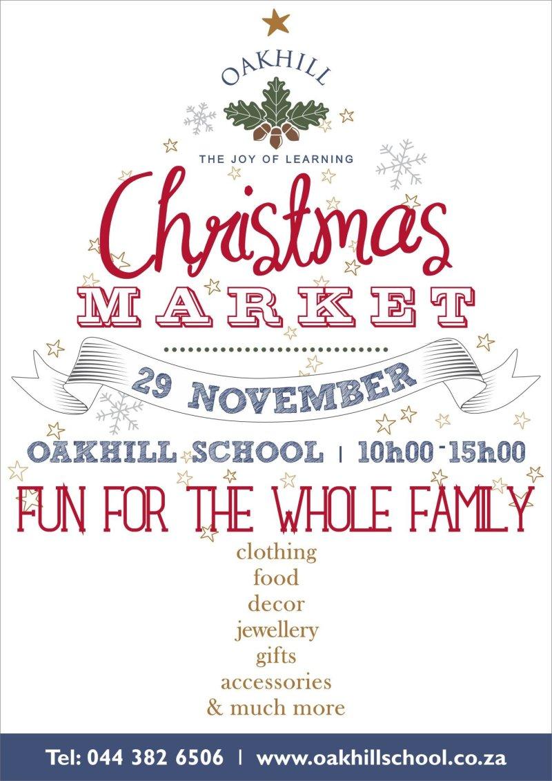Oakhill Christmas Market 2014