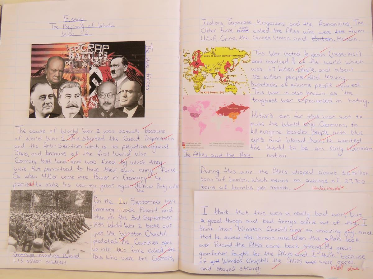 Grade 7 Research Ww2