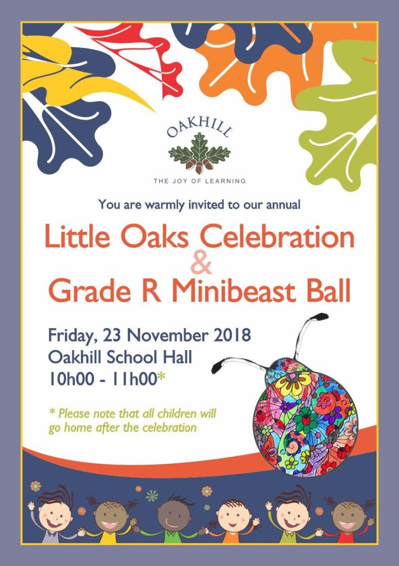 Invite Little Oaks Celebration 2018