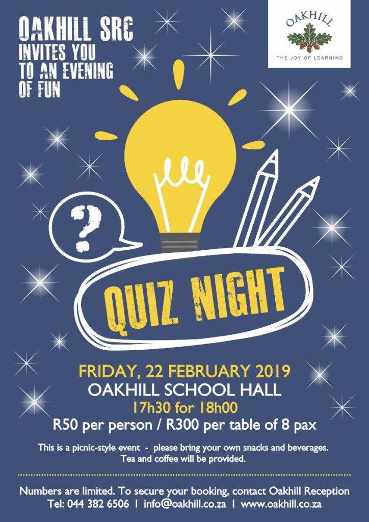 SRC Quiz Night 2019