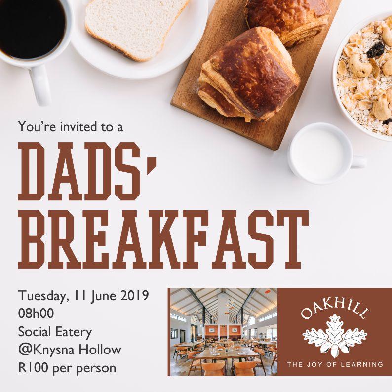 Dads Breakfast Invite