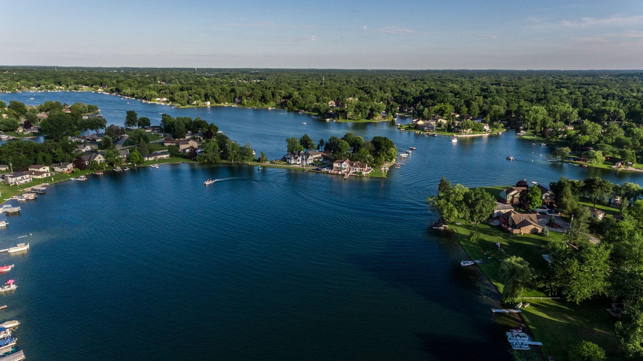 Cedar Island Lake Michigan