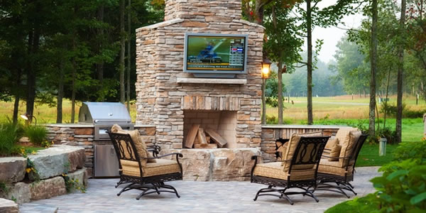 paver patio designs with fireplace Yes landscaping Custom: Pictures of landscaping using