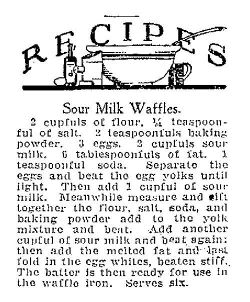 1927 recipe