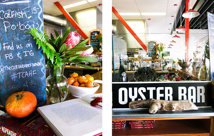Oyster Bar and Menu