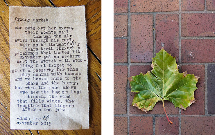 Poem and Leaf