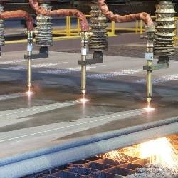 Flame cutting of P460NL2 pressure vessel steel plates