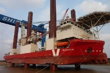 EH36 Steel plate used in MPI Adventure Offshore Construction ship for building wind turbines
