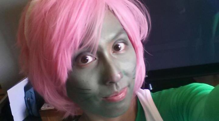 OakMonster.com - Hulk Bunny Make-up Test