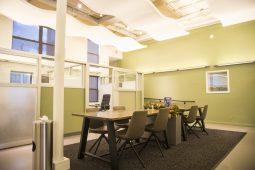 CrossFunction Flexible Workspace transforms historic building like the first-floor library, for businesses and local residents. | Alex Rogals/Staff Photographer