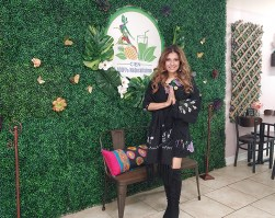 Cien 100% Naturalisimo owner, Rossy Salto Ayala, is committed to changing lives though plant-based fare and holistic health coaching. /Elsmo