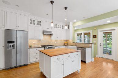 Kitchen in the Keystone Avenue home.