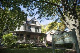 The Ernest Hemingway Birthplace on Oak Park Avenue in Oak Park. | ALEX ROGALS/Staff Photographer