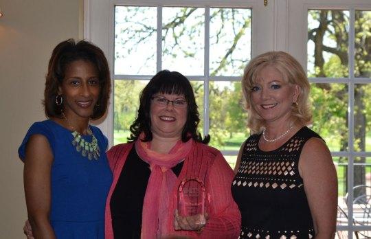 Myra Price, Kathy Rezny, LaVerne Collins