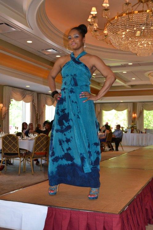 Censeor Gailey, in Boho Chic maxi dress