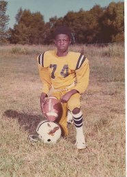 Hughes donned football pads for the first time at age 9 in 1975.