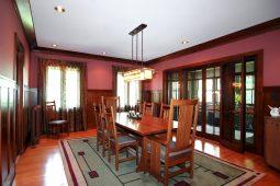 Aug. 14: Above, the dining room of the Edwin Ehrman House. Photos courtesy of Gagliardo Realty Associates