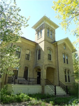 Abraham Hoffman house (now Trailside Museum in Italianate style. (Photo courtesy of Nick Kalogeresis)