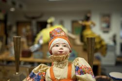 Dolls are prominent with clothing that show the aesthetics of each culture. | WILLIAM CAMARGO/Staff Photographer