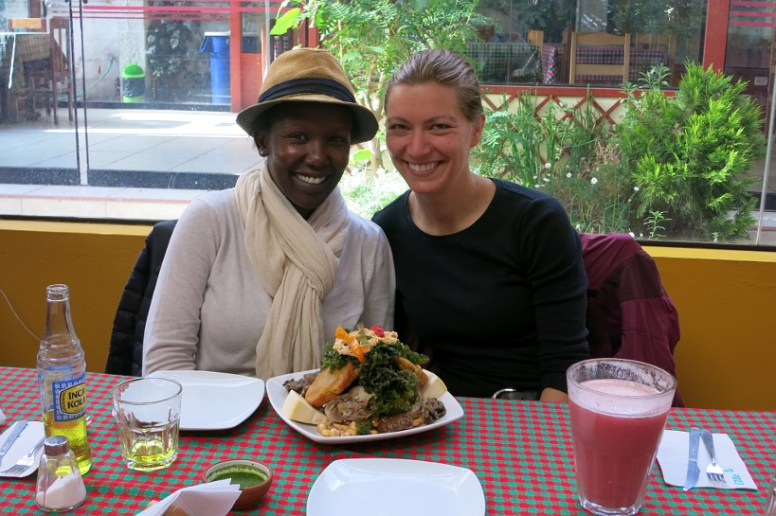 Claire Rouger and Rosemary Kimani are on a quest for authentic food