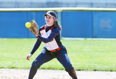 OPRF sophomore shortstop Maeve Nelson led the Huskies in batting average (.492) home runs (10), RBIs (52) and runs (49).   File photo