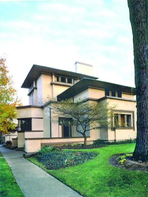 Frank Lloyd Wright's Fricke House has been restored to its 1901 glory. | Provided