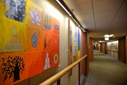 """Wall to wall: The Oak Park Art League displays art on the walls in the lower level gallery of West Suburban Medical Center """"The Buddha Within"""" will be on display through Nov. 30. 