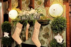 Santas, snowmen and plenty of glistening glass ornaments will be on display inside and outside of the homes on this year's Holiday Housewalk.   PROVIDED