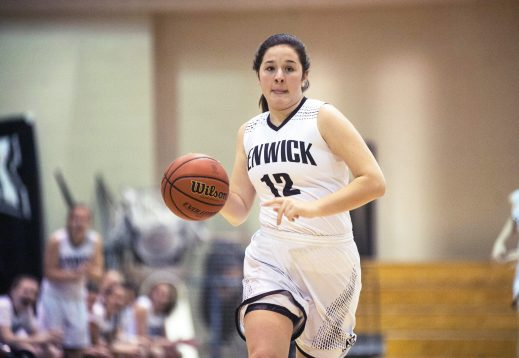 Fenwick senior McKenzie Blaze has scored over 1,000 points during her high school career. She also provides leadership, rebounding and defense for the Friars. (File photo)