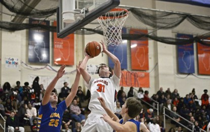 OPRF junior Charlie Hoehne is a key player along the Huskies' impressive frontline. He scores, rebounds and defends well. (File photo)