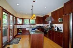 Beginning in 2004, the Thomas G. Gale House underwent an extensive remodeling that included a new kitchen.
