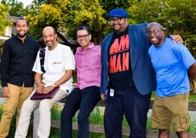 "Members of Zingela Ulwazi are Christian Harris, Doug Dixon, Dr. Orson Morrison, Kamau ""Maui"" Jones, Daryl Thompson. Not pictured: Jose Cruz, Kellen Love (Photo provided)"