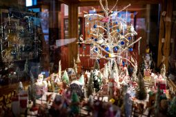Among the decorations on display through Jan. 6 at the history museum in Oak Park are hundreds of vintage items culled by Ehrenberger during decades of collecting. | Alexa Rogals/Staff Photographer