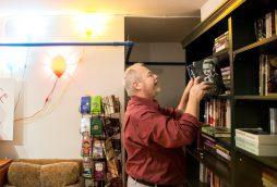 Bill Fletcher is co-owner of the Oak Park Arts District's newest shop, Jake's Place Books, 142 Harrison St. | Photo by Alexa Rogals