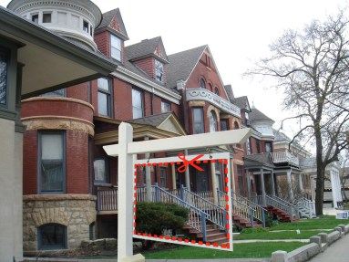 Oak Park insists a decades-old rule to fight blockbusting continues to protect a precious suburban commodity: diversity. (Photo courtesy of WBEZ Chicago)