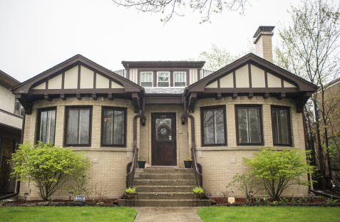 """The home at 1224 N. Kenilworth Ave. was owned by Al Capone enforcer Jack """"Machine Gun"""" McGurn from 1934-36.   Alexa Rogals/Staff Photographer"""