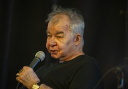 NATIVE SON: John Prine, Proviso East grad, made an appearance at Val's halla Records last week, which was packed with fans. | ALEXA ROGALS/Staff Photographer