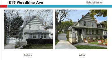 819 Woodbine Ave. | Courtesy Oak Park Historic Preservation Commission