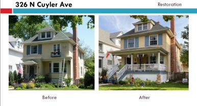 326 N. Cuyler Ave. | Courtesy Oak Park Historic Preservation Commission