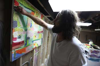 Art in all its forms: Mike Hedges, a native Oak Parker, is an artist and residential and commercial painter.