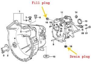 E39 Manual transmission fluid