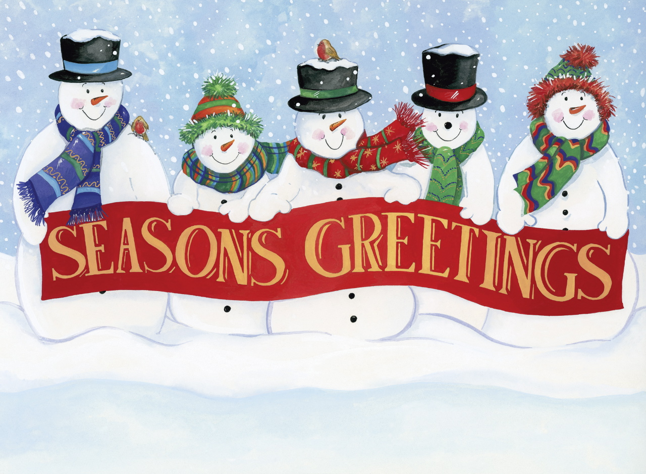 Seasons Greetings Oak Tree Homes Trust