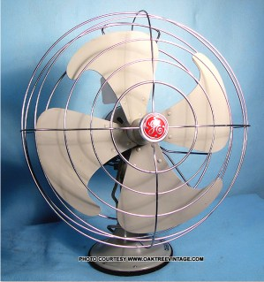 AntiqueVintage Electric Fans: Restored, Refurbished and Reproduction fans Vintage deco fans by