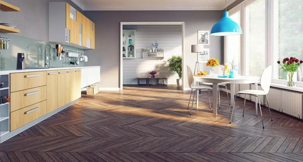 OakWood Kitchen Renovation flooring options