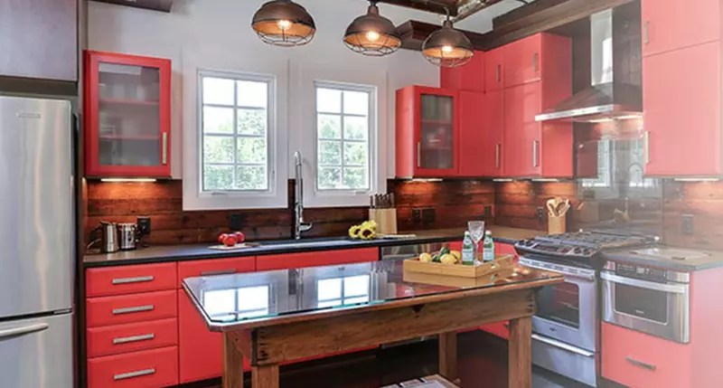 OakWood Kitchen Renovation Custom Cabinetry and millwork