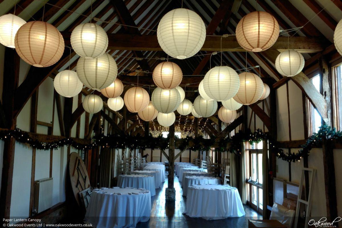 Paper Lantern Hire Oakwood Events