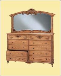 Oakwood Interiors Versailles Dresser
