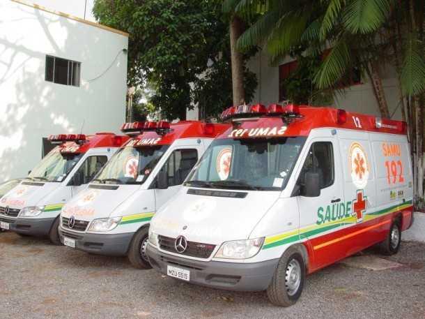 Parte das ambulâncias do Samu será substituída por novos carros (Arquivo Secom)