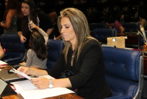 Cida Borghetti é relatora setorial na Comissão Mista do Orçamento