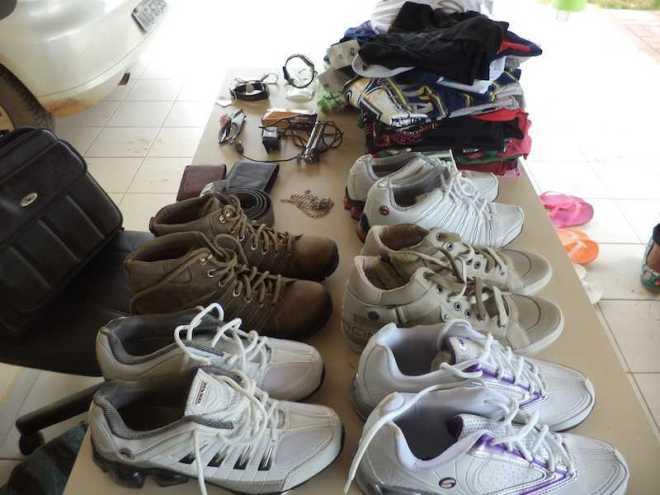 Parte dos produtos furtados foram recuperados e entregues aos proprietários - Foto: oaltoacre